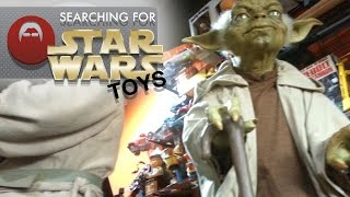 Looking for Star Wars Toys at the Toy Shack in Las Vegas