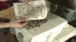 How To Screen Print: Self Weeding Heat Transfer Paper