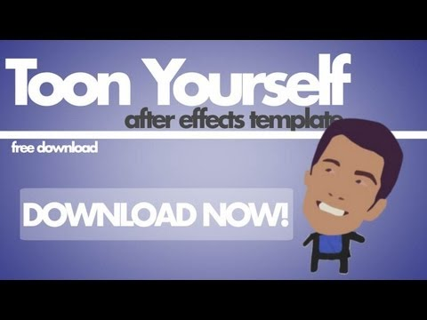 tutorial: After Effects Tutorial Template - ToonYourself