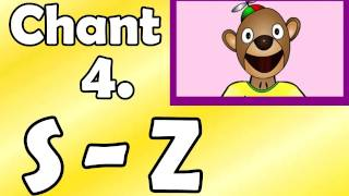 Alphabet Chant 4. S To Z Preschool Kindergarten
