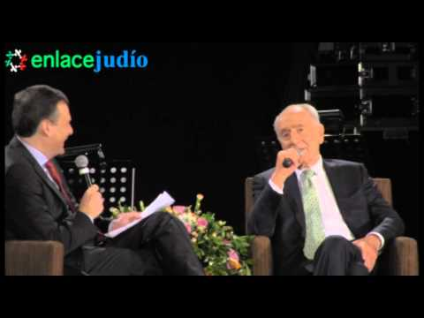 Enlace Judío - Shimon Peres en CDI: Mesa panel con Leo Zuckermann
