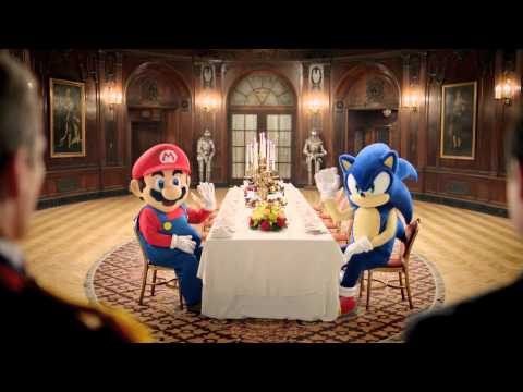[Commercial] Mario &amp; Sonic at the London 2012 Olympic Games - TV Spot (Mario Ending)