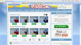 How To Get Free Builders Club On Roblox!