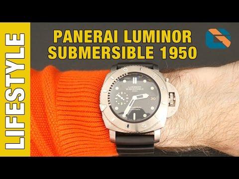 Panerai Luminor Submersible 1950 2500M Automatic Titanio PAM00364 - Watches Up Close & Personal