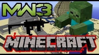Minecraft MW3 Infected THEY'RE COMING FOR US!