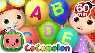 ABC Song with Balloons | + More Nursery Rhymes & Kids Songs - ABCkidTV