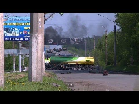 Ukraine: combats intenses pour le contrôle d'un checkpoint