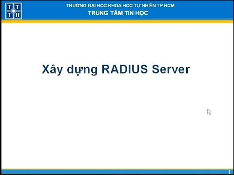 Xây dựng RADIUS Server trên Windows Server 2003