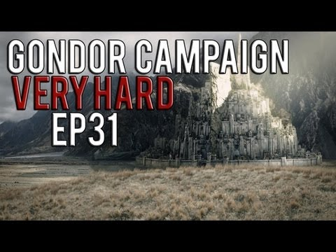 [31] Third Age: Total War 3.2 (MOS) - Gondor VeryHard - Battle of Barad Dur