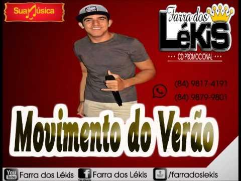 Movimento do Verão - CD PROMOCIONAL - 2015 - Farra Dos Lekis - Pra tocar No Paredão