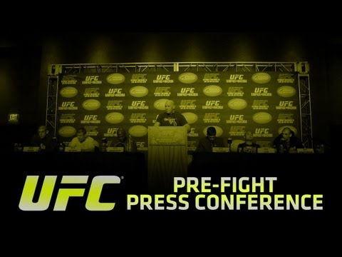 UFC 162: Pre-fight Press Conference
