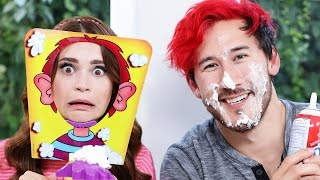 PIE FACE CHALLENGE ft Markiplier!