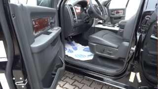 2012 Dodge RAM pickup 1500 Laramie Crew Cab RamBox Presentation  Full HD  videos