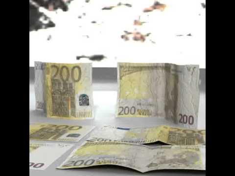 3D Model of 3D Model 200 Euro Banknote