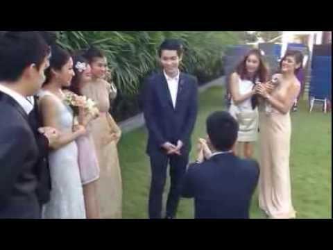 [HOT] Trai đẹp Thái Lan bất ngờ cầu hôn người yêu đồng giới