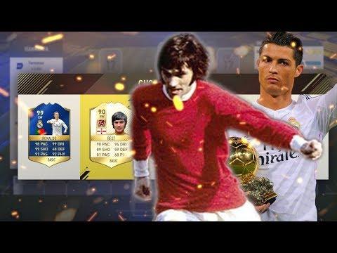 BEST E CR7 NO TIME!!! FUT DRAFT EM BUSCA DO 194 FIFA 17