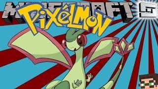 MineCraft Pixelmon 3.0 - I CAN FLYGON! ( Pokemon Mod ) S2E2