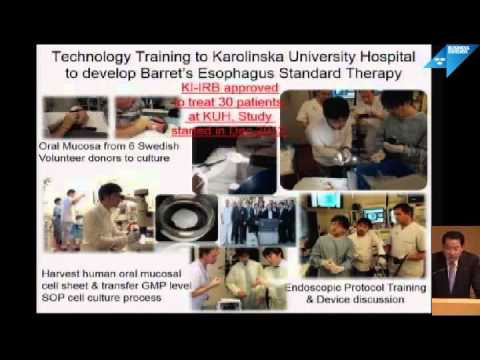 Sweden Medical Forum, part 11 - Professor Teruo Okano, Tokyo Women's Medical University