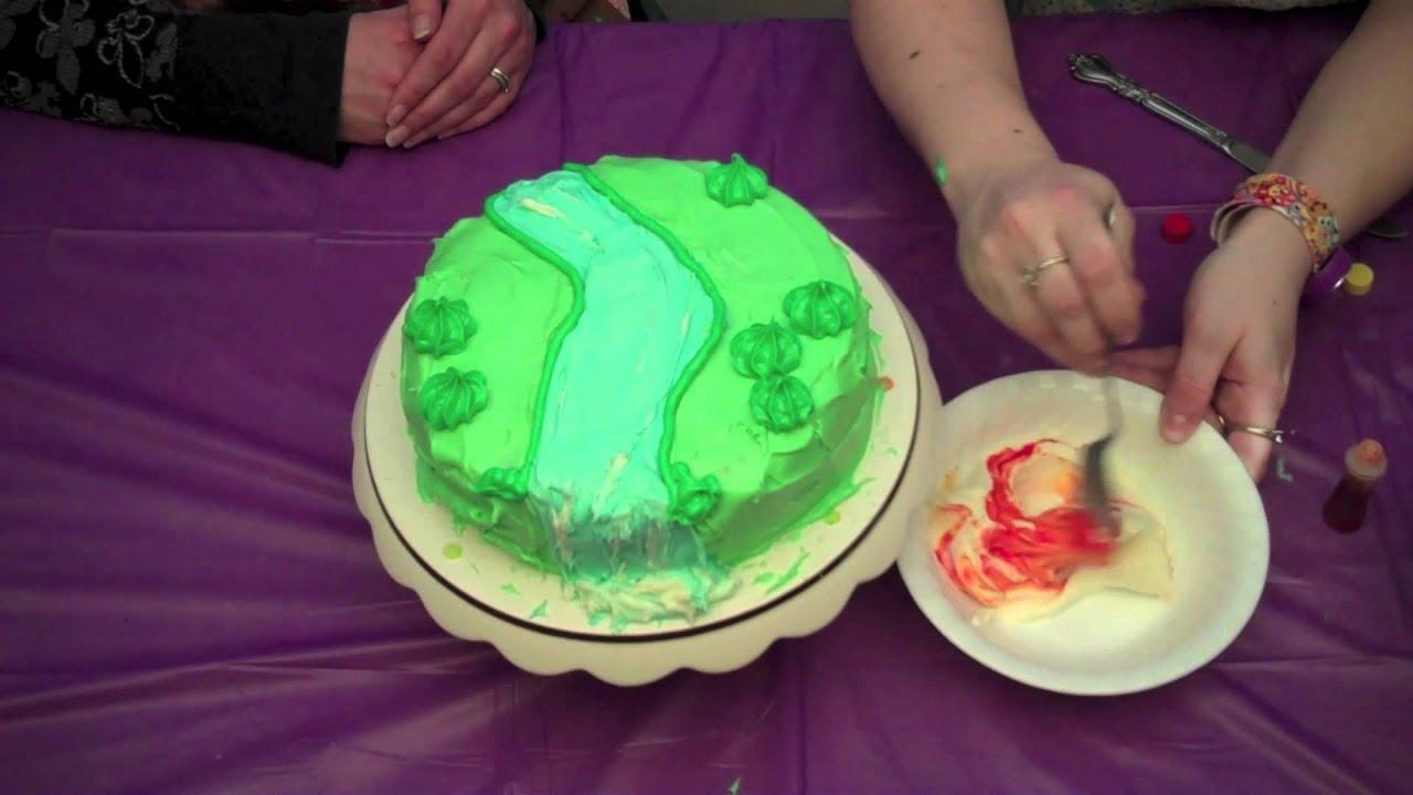 How To Make A Moshi Monster Birthday Cake