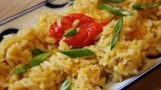 How To Make Pumpkin Rice.