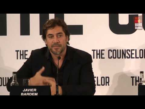 Counselor | Javier Bardem & Ridley Scott press conference (2013)