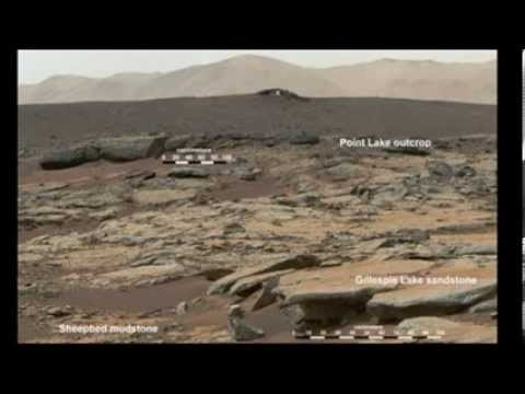NASA Mars Rover Finds Evidence Of Lake on Mars