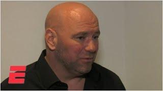 Dana White on Israel Adesanya's win vs. Anderson Silva, Robert Whittaker's health   UFC 234