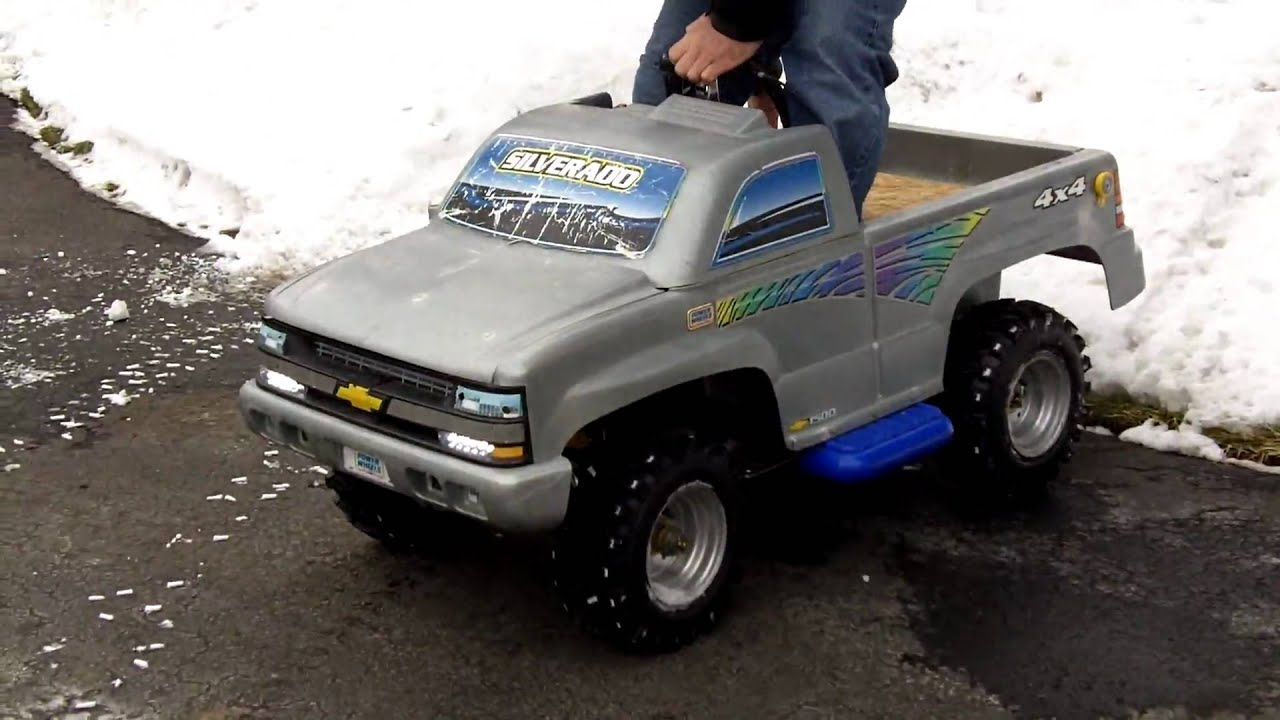 Fisher Price Chevy Silverado Power Wheels Autos Post