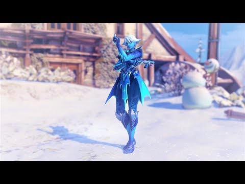 Overwatch Winter Wonderland Sombra | Rime Skin (Legendary)(1080p60fps)