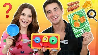 We Try The Crazy Toaster Game