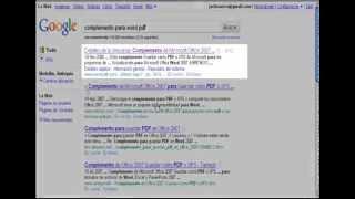 Convertir De Word A PDF 2007