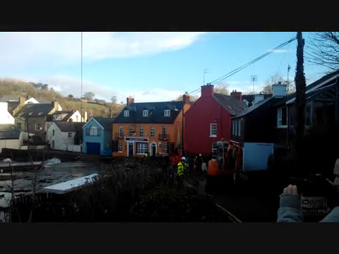 Storm Damage at The Bulman Bar Kinsale