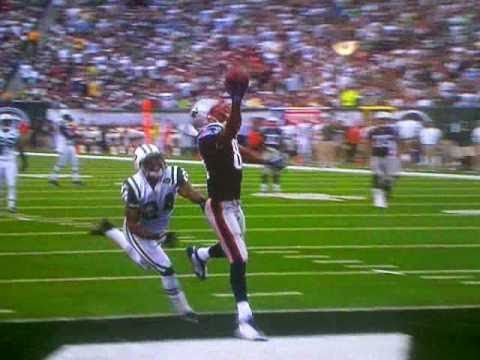 Randy Moss Sick One Handed catch over Revis for Touch Down NFL