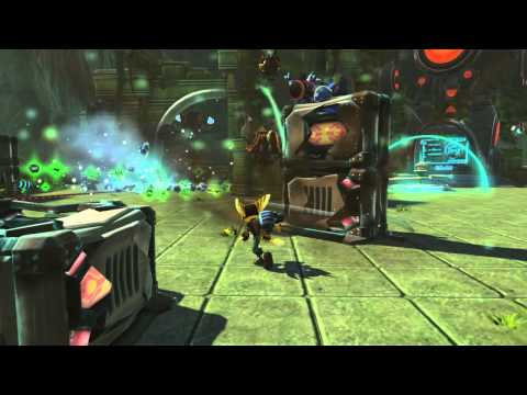 Ratchet &amp; Clank: Full Frontal Assault / Q-Force GamesCom Gameplay