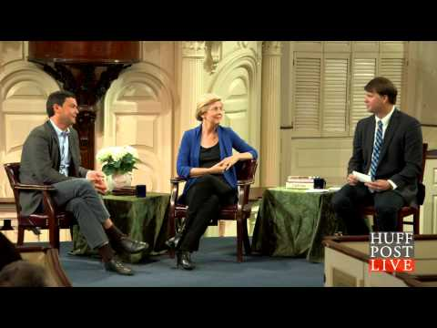 The Huffington Post Live - Elizabeth Warren & Thomas Piketty Discuss Nature & Income Inequality.