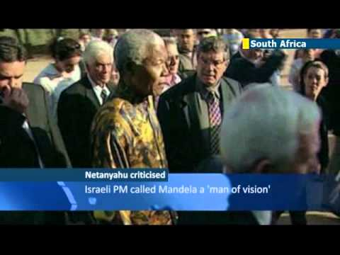 South Africa Jews slam Netanyahu on Mandela