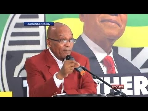 Jacob Zuma speaks off the cuff and candidly