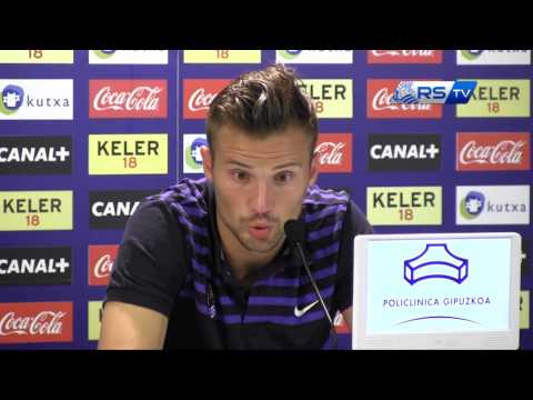 Haris Seferovic 18/08/2013