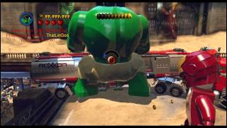 LEGO Marvel Super Heroes Cheat From Trainer Preview