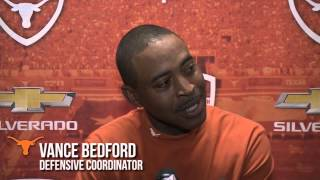 Football assistant coaches media availability [April 17, 2014]
