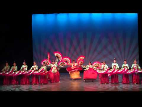 Korean Folk Dance - Macau International Youth Dance Festival 2012