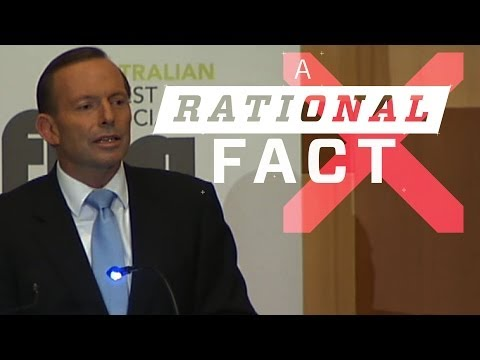 A Rational Fact: Tony Abbott's timber speech with added facts.