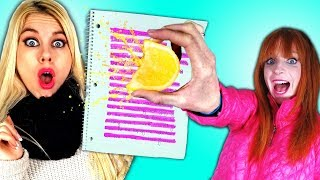 13 SCHOOL HACKS you wish you already knew!  Back to School Life hacks  🎓