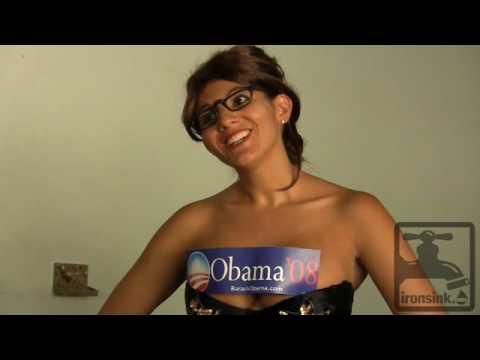Sarah Palin Strip Tease - 10/27/08