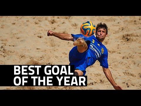 Compilação com os 10 gols mais bonitos do beach soccer no ano de 2014