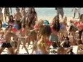Israeli Beach Scene .