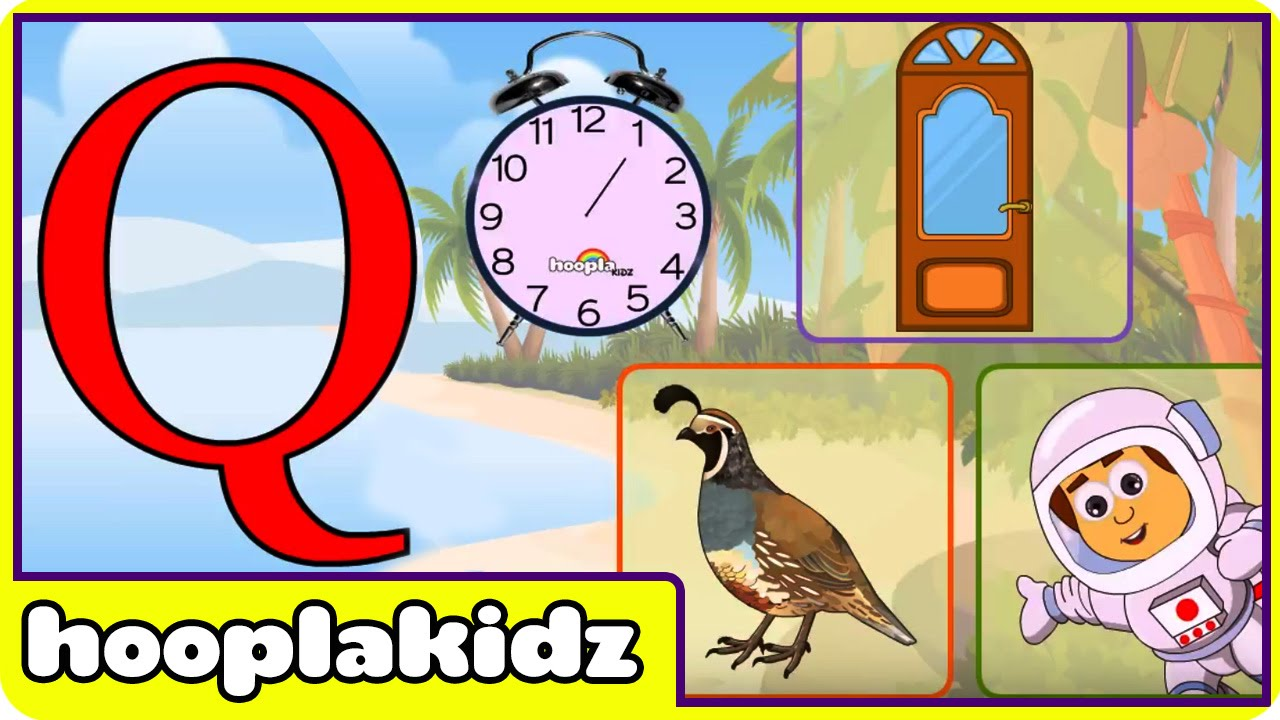 Learn About The Letter Q - Preschool Activity