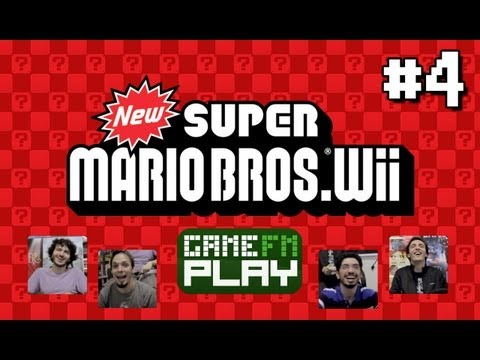 [GameFM Play] New Super Mario Bros. Wii #4: Vila Mimosa