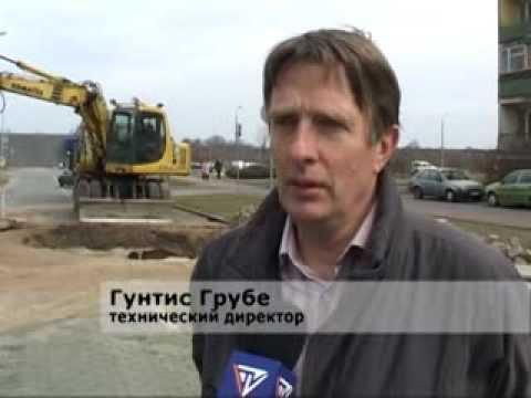 Смотреть видео Проблемы с водопроводом в Вентспилсе