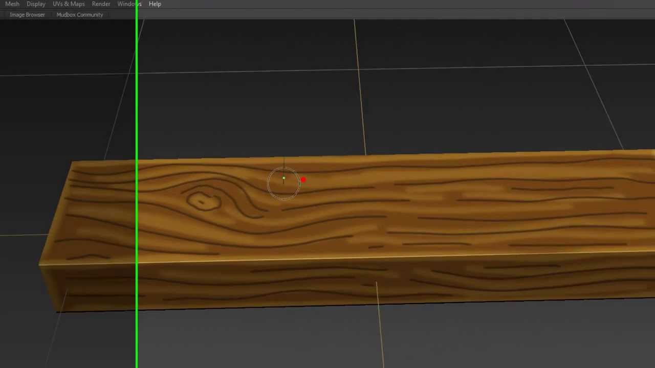 Hand painted wood texture Mudbox - YouTube